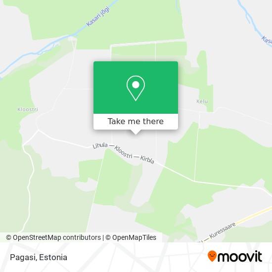 Карта Pagasi