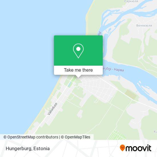 Hungerburg map