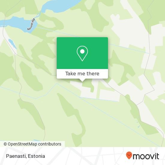 Paenasti map