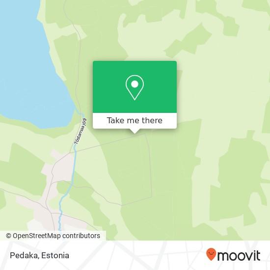 Pedaka map
