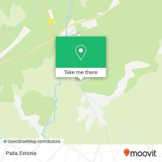 Pada map