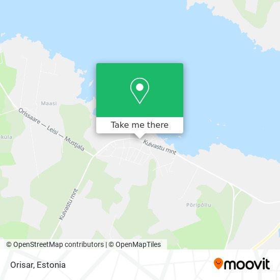Orisar map