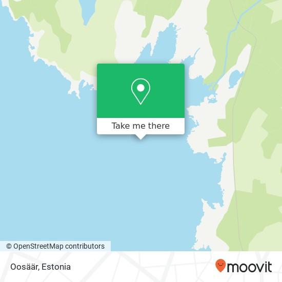 Oosäär map