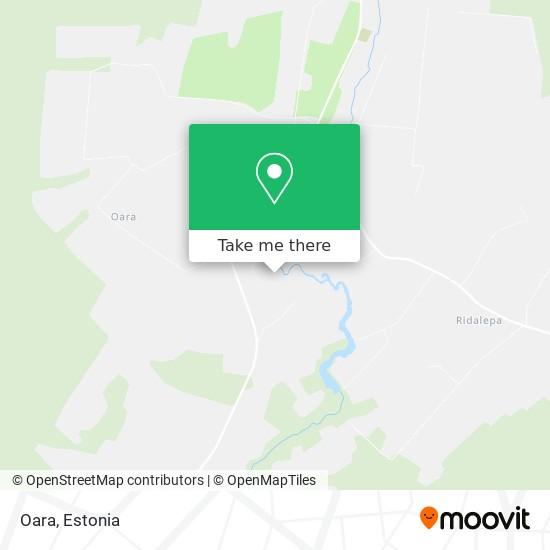 Oara map