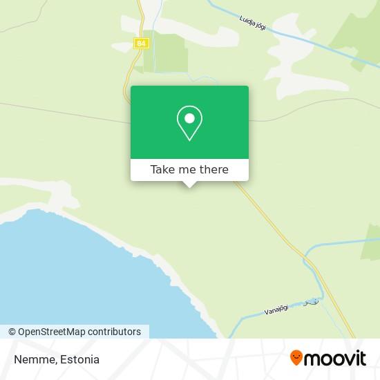 Карта Nemme