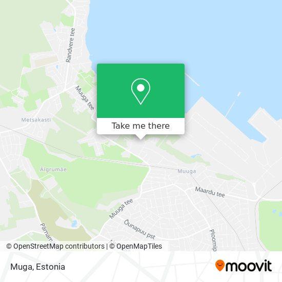 Muga map