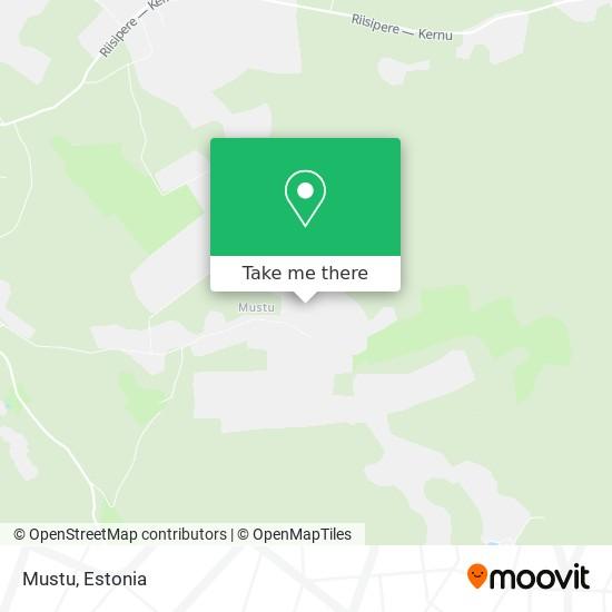 Mustu map