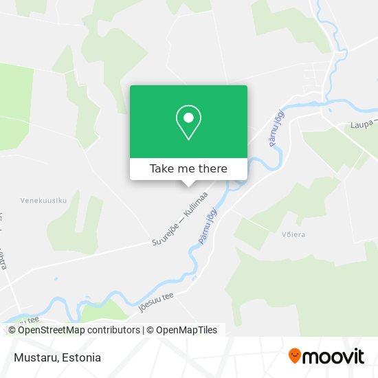 Mustaru map