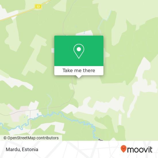 Карта Mardu