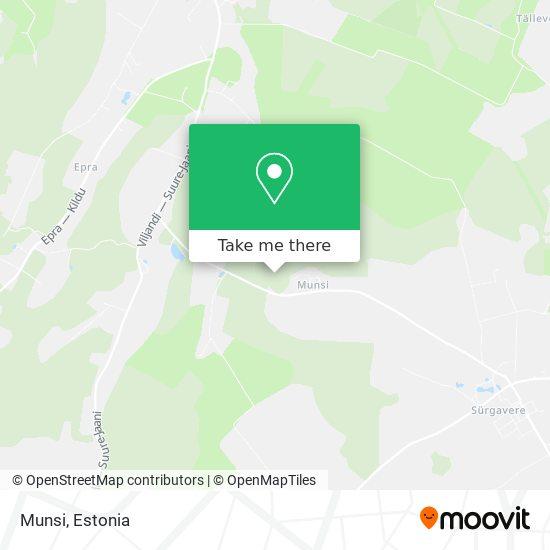 Munsi map