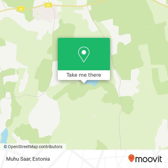 Muhu Saar map