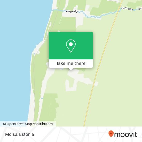Moisa map