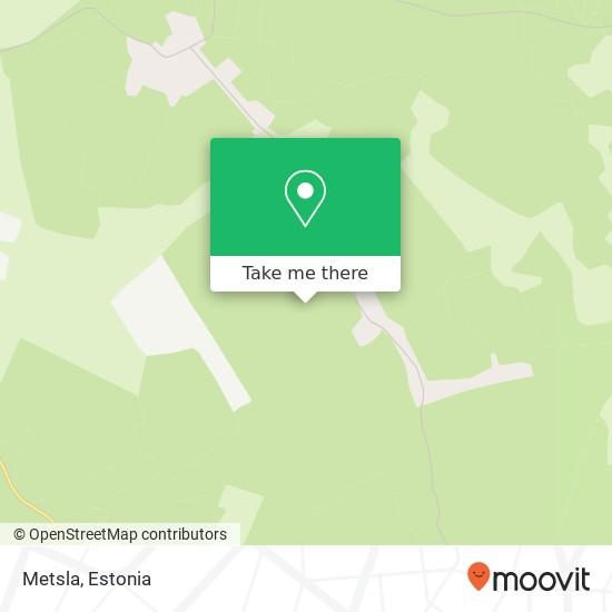 Metsla map