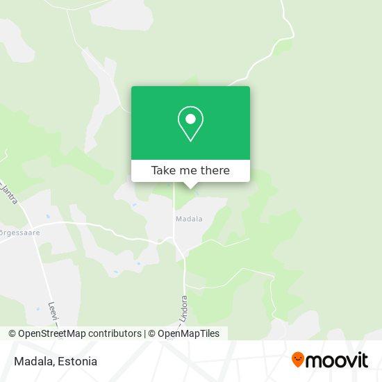 Madala map