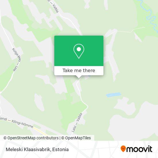 Meleski Klaasivabrik map