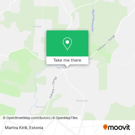 Martna Kirik map