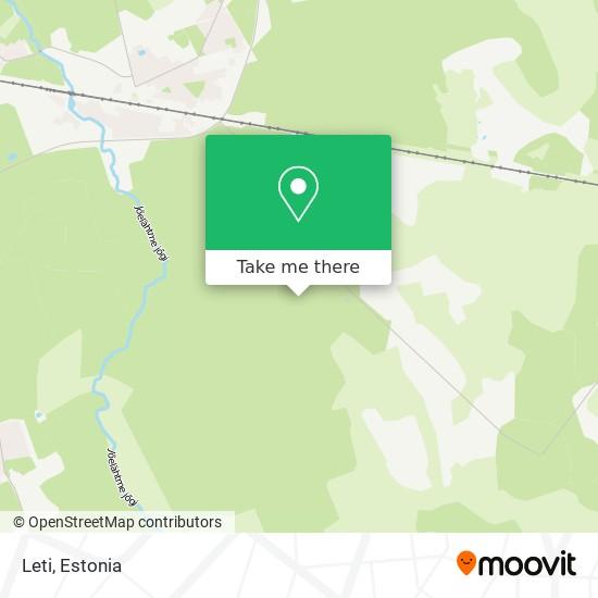 Leti map
