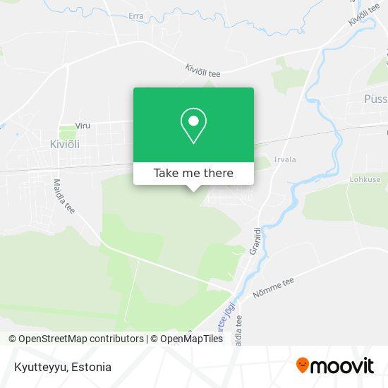 Kyutteyyu map