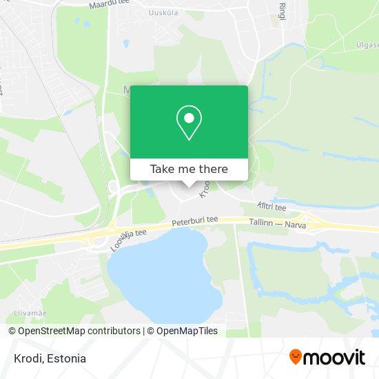 Krodi map