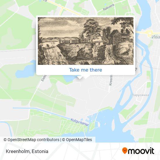 Kreenholm map