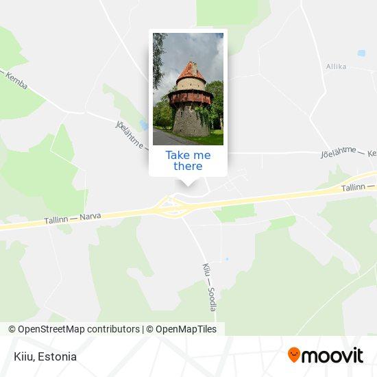 Kiiu map