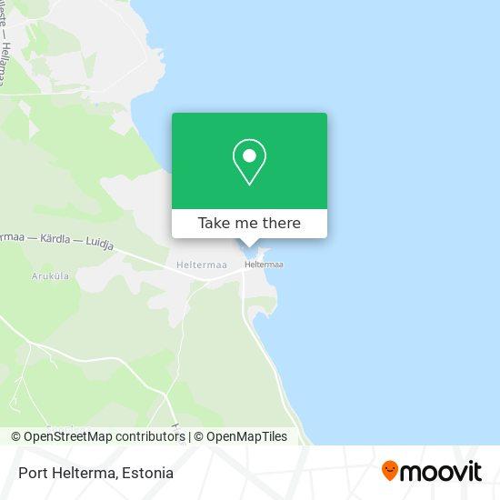 Port Helterma map