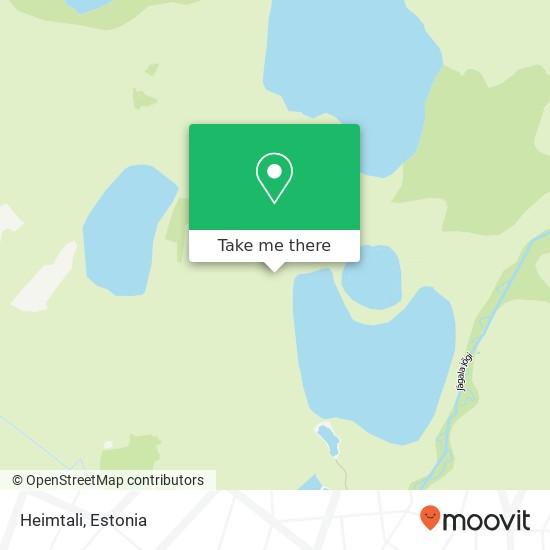 Heimtali map