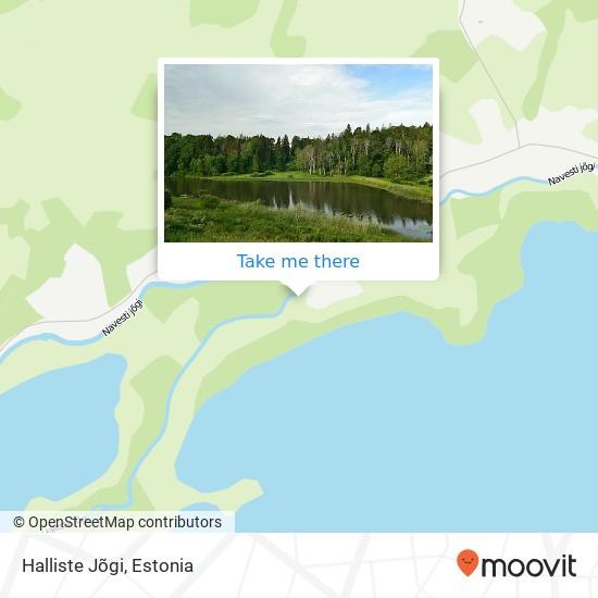 Halliste Jõgi map