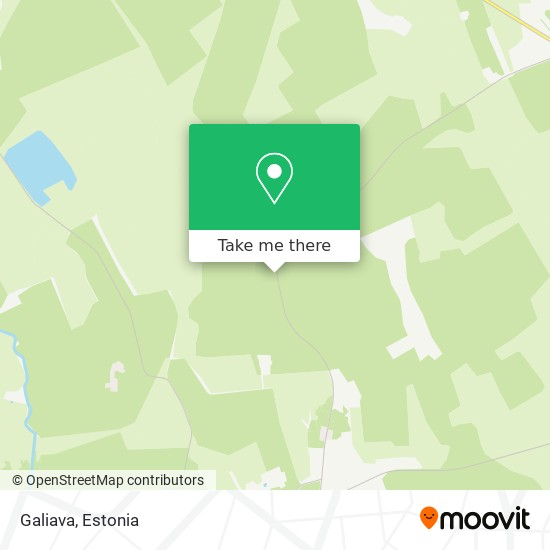 Galiava map