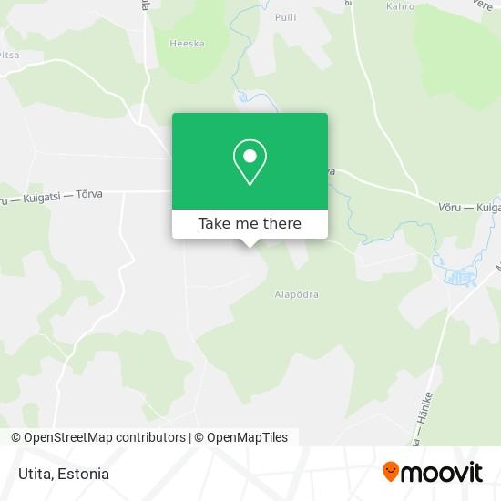 Utita map