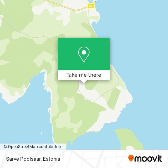 Sarve Poolsaar map