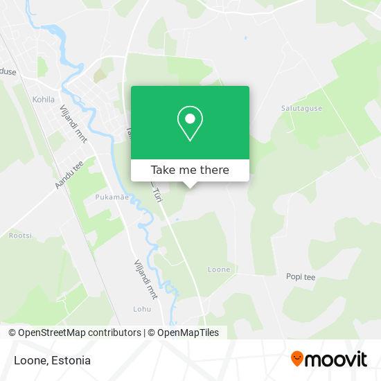 Карта Loone
