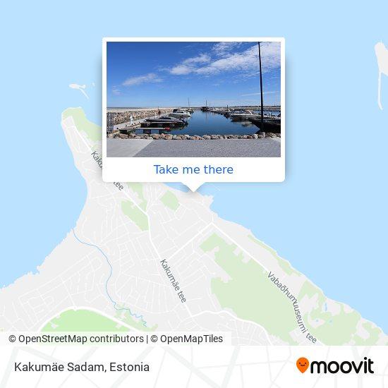 Kakumäe Sadam map