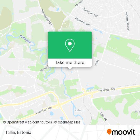 Tallin map