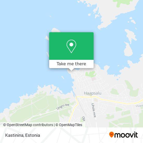 Kastinina map