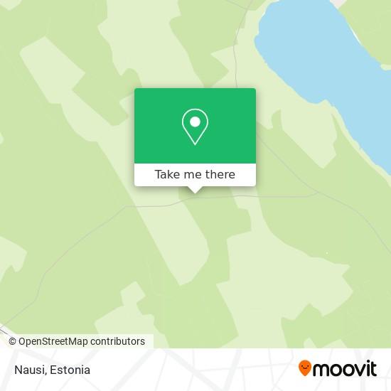 Nausi map