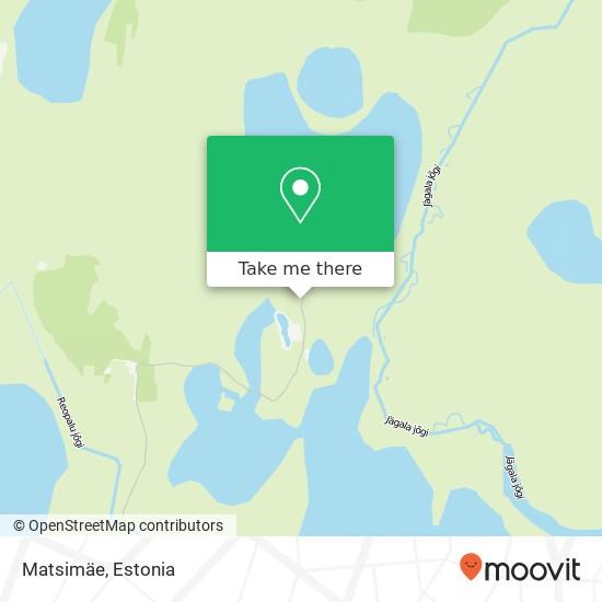 Matsimäe map