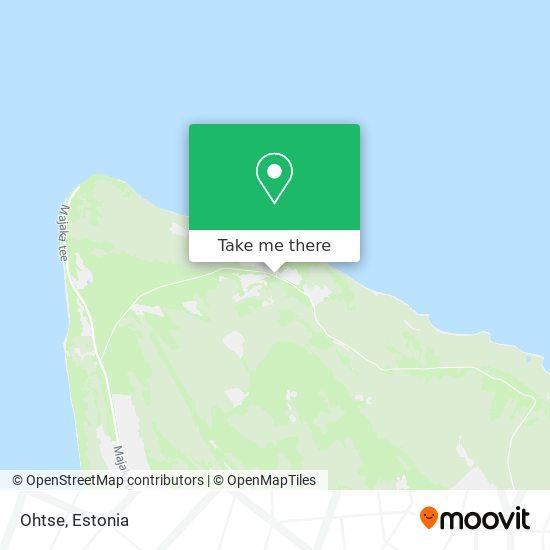 Ohtse map