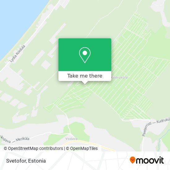 Svetofor map