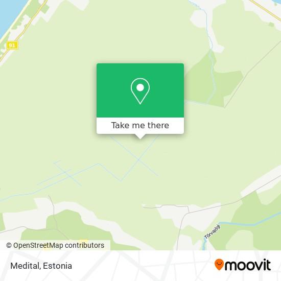 Medital map