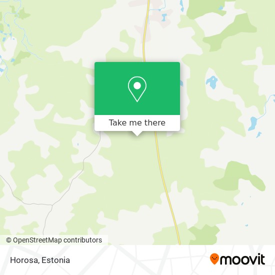 Horosa map