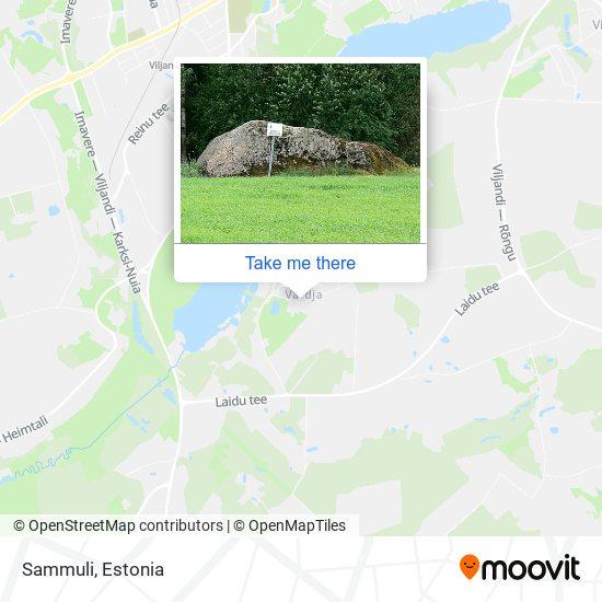 Sammuli map