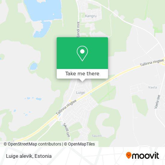 Luige alevik map