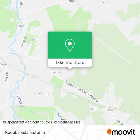 Kadaka küla map