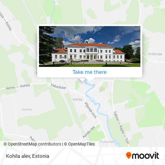 Карта Kohila alev