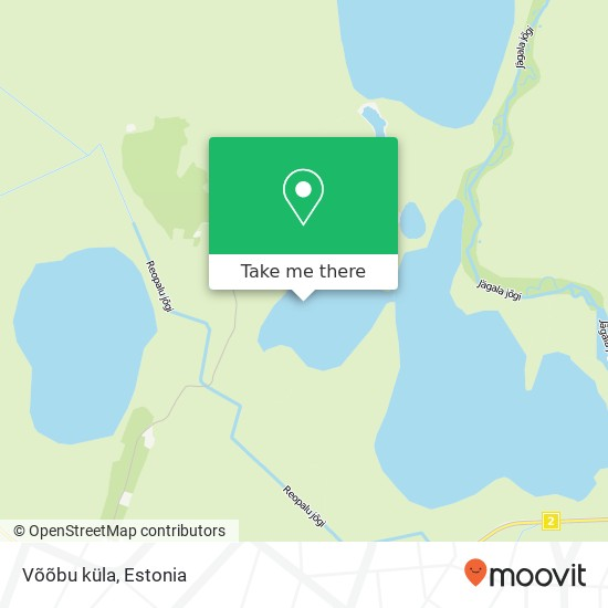 Võõbu küla map