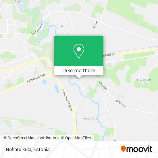 Nehatu küla map