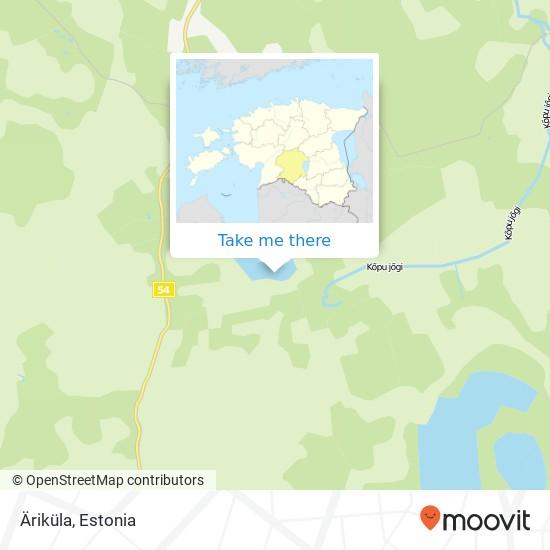 Äriküla map