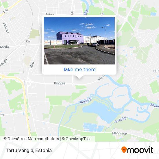 Tartu Vangla map