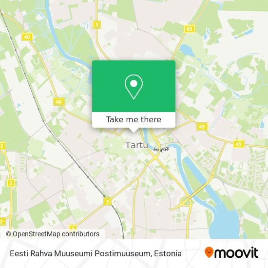 Eesti Rahva Muuseumi Postimuuseum map